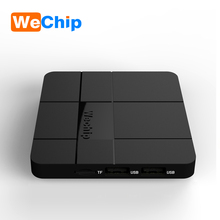 Amlogic s905w wechip V8 android 7.1 quan core 1gb 2gb 8gb 16gb 4k tv box wechip v8 cheapest android tv box