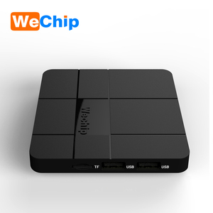 Amlogic s905w wechip V8 android 7.1 quan core 2gb 16gb 4k tv box wechip v8 cheapest android tv box