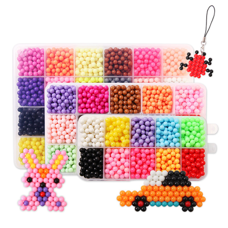 Fashion Kids Craft Water Hama Beads fuse beads 3D Funny Novel Puzzle