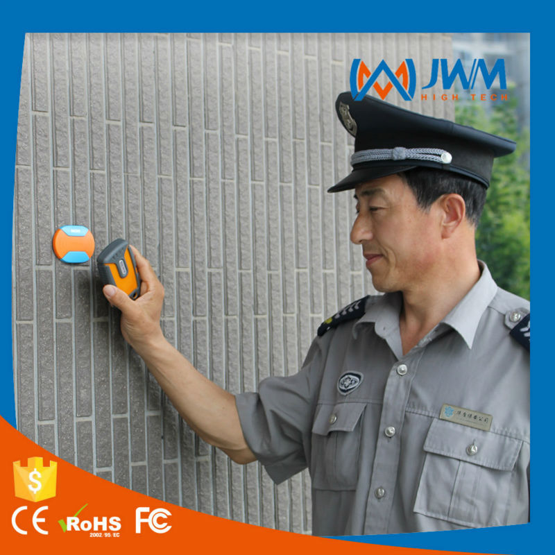 gprs real time security time clock for monitoring guard patrol