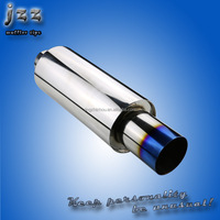 Stainless steel 4 inch universal motorcycle mufflers for mustang to replace original parts