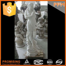 Hot sale good quality marble statues of beautiful girls