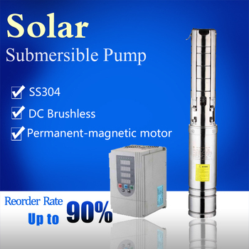Solar water pump system for agriculture irrigation