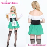 Germany National Beer Sexy Dirndl Dress Oktoberfest Costume