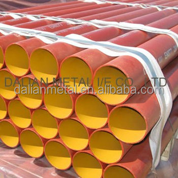 Alibaba China epoxy coated EN877 cast iron pipe for waste water system