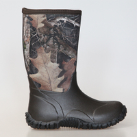 Youth Heated Camo Neoprene Hunting Boots Wholesale