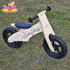 2016 new design log wood wooden kids balance bike for sale W16C156