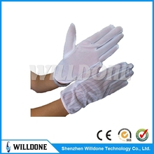 ESD dotted Gloves antistatic dotted gloves