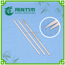 healthy square/ flat skewers bamboo product for BBQ tool