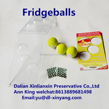 New No More Stinky Fridge Balls Set of 3 Pack of 3 Fridge Balls Extend the life of your food Keep Food Fresher As Seen On TV