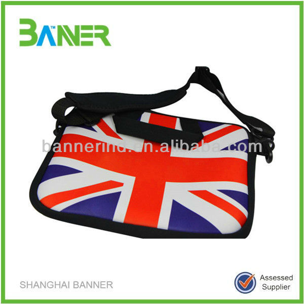 Promotional customized printed bag neoprene laptop sleeve 15.6