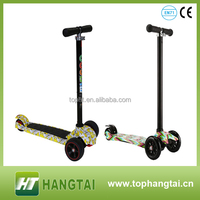 Cool Kids Toys Mini Folding Scooter 3 Wheel Sport Scooter kids aluminum tricycle foot scooters