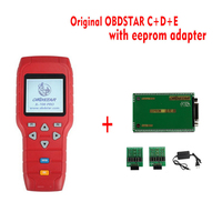 Original OBDSTAR X-100 x100 PRO Auto Key Programmer (C+D+E) including EEPROM adapter for IMMO+Odometer+OBD+EEPROM DHL free