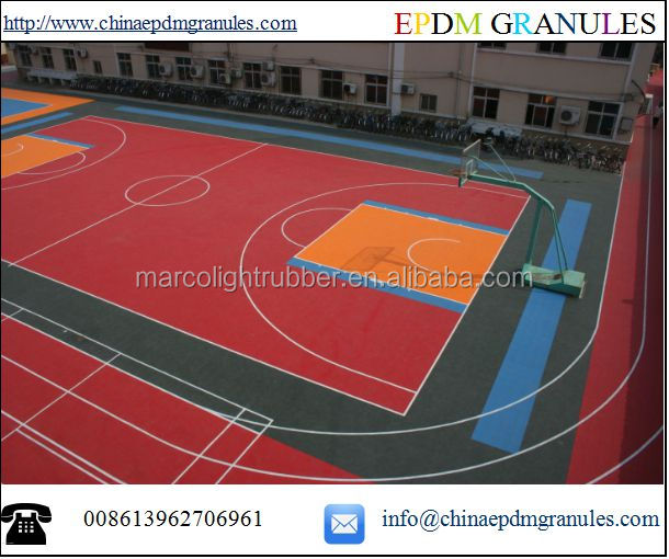 EPDM Rubber Playground
