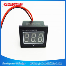 "Geree V56D 0.56 "" Green Waterproof Digital DC 3 phase Voltmeter 15v 24V 36V 96V 150V Voltage Meter"