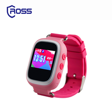 Leading supplier private label small order pink orange phone call smart watch for kids 2017 with gps waterproof