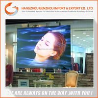 self adhesive clear rear projection screen film,high resolution glass projection film,Advertisement screen Material