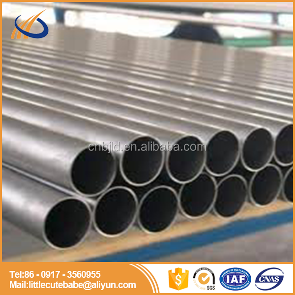 2017 popular first grade titanium pipe price seamless tube