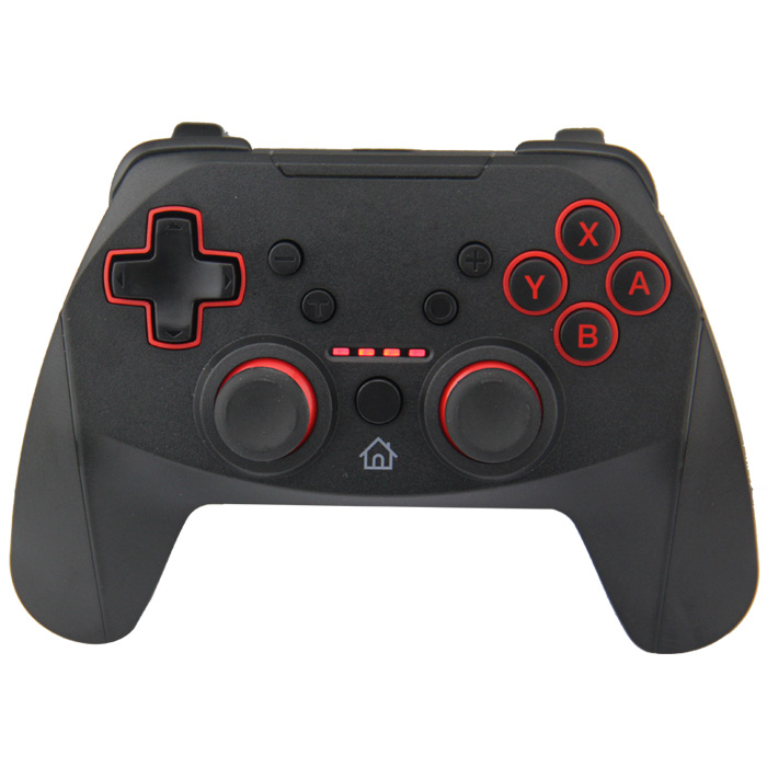 Factory Produce Cheap Price Black+Red Wireless Gamepad Joystick for Nintendo Switch Pro Wireless Controller