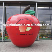 inflatable giant apple/ inflatable apple model/ inflatable cartoon apple for advertising