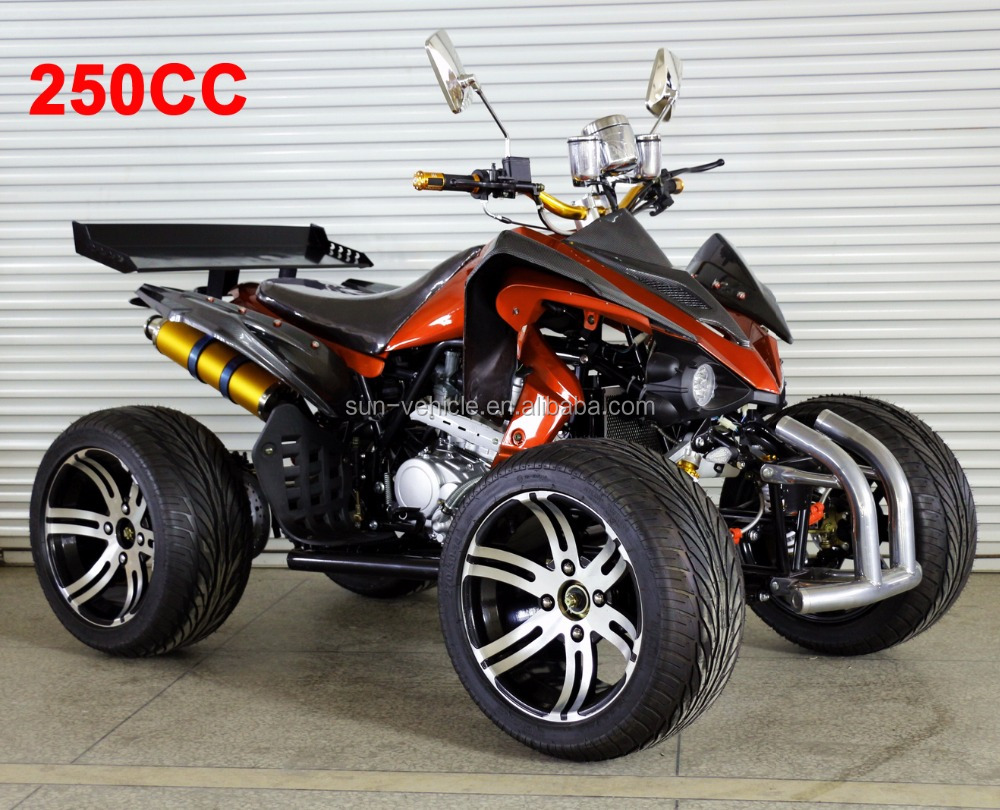 Cheap price gas atv 250cc quad bike 250cc atv quad for sale, four wheeler atv quad for adults made in China