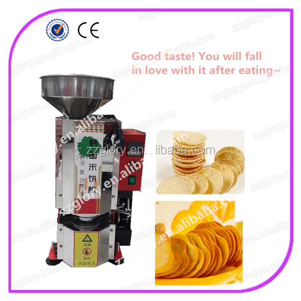 Popular good taste korea rice cake machine