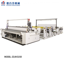 Automatic bobbin paper cutter / jumbo roll slitting machinery /bathroom tissue roll making machine