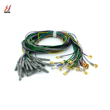 Colorful EEG cable ,with electrode