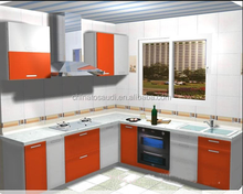 Funny kitchen set/colorful kitchen cabinet