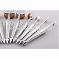 Newest selling OEM quality synthetic hair eyeliner makeup brush set