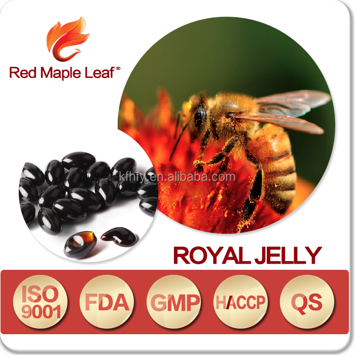 Antifatigue Infertility Products Royal Jelly Softgel Capsules