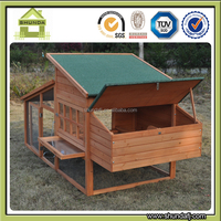 SDC013 Chinese industrial outdoor wooden chicken coops