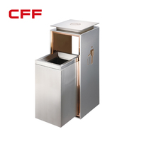 Recycle commercial customized waste bin container