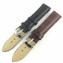18mm 20mm 22mm 24mm Replacement Genuine Leather Watch Strap, Logo Custom Watch Band