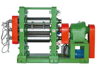 Three Roll Rubber Calendering machine