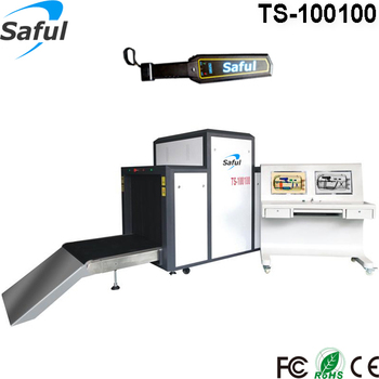Best choice for Big Heavy Package checking X-ray Conveyor Security Scanner TS-100100