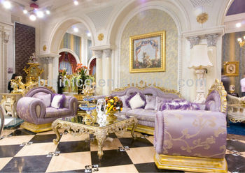 Luxury home sofa set,new classical living room sofa,wooden hand carving(B50970)