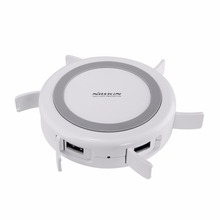 2.1A fast charging 3 in 1 Hermit Multifunctional wireless charger USB3.0 with 4 USB outputs