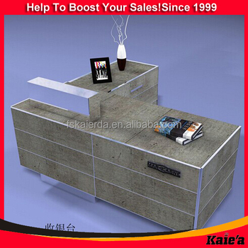 wholesale customized office reception table models design