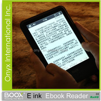 most popular europe product 7 inch e-ink touch screen ereader