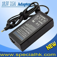 High quality 18.5V 3.5A 65W AC Adapter for Laptop