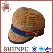 new design fashion paper straw hat for dog,small size dog straw hat