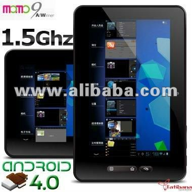 "Ployer MOMO9 Android 4.0 Capacitive 7"" Tablet PC Cortex A10 MID WIFI 1080P HDMI"