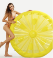 2018 pvc inflatable lemon float swimming pool float inflatable lemon float toy in stock