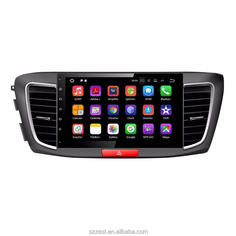 "ZEST 10.1""inch android 7.1 auto unit multimedia stereo car audio for Honda Accord 9 9th 2013-2017 with wifi BT 3G"