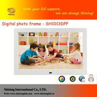 SH1013DPF portable digital picture frame 10 inch ( white acr