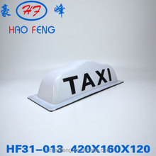 HF31-013 taxi topper sign taxi top advertising light box taxi roof advertising box