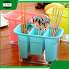 multipurpose double plastic table fork knife spoon chopsticks tableware storage case bin container box
