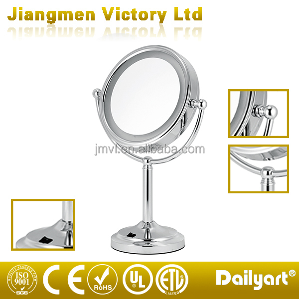 Electric Double Sides LED Makeup Magnifying Mirror