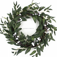 High quality artificial christmas garlands green twig garlands
